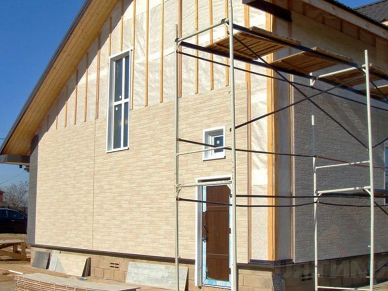 Отделка дома из профилированного бруса с последующей обшивкой стен