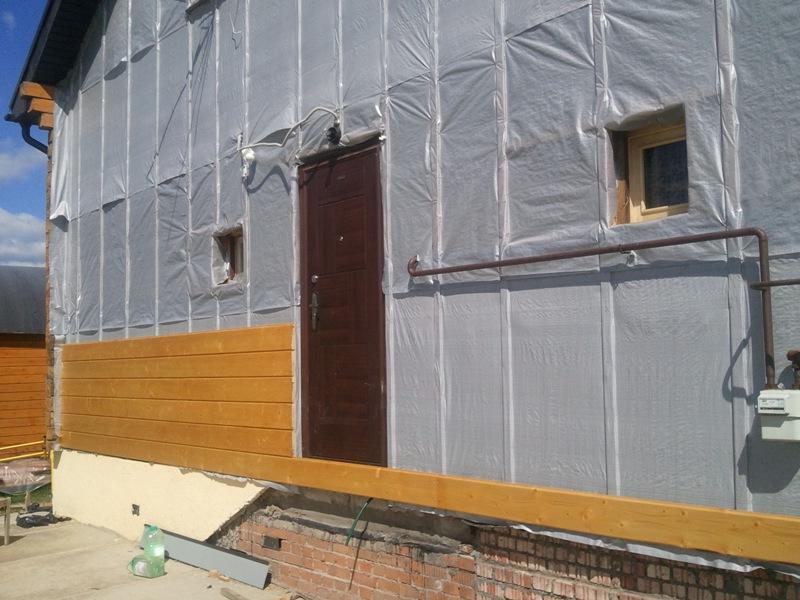 Внешняя отделка домов из бруса и обшивка стен вагонкой