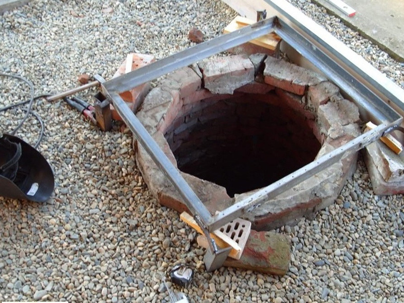 Вырыть колодец на даче и герметизация его снаружи