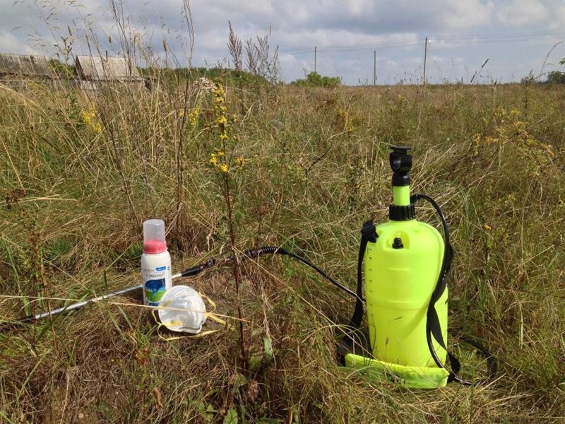 Средство от сорняков «Ураган» и правила применения раствора