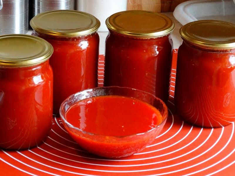 Кетчуп из помидоров