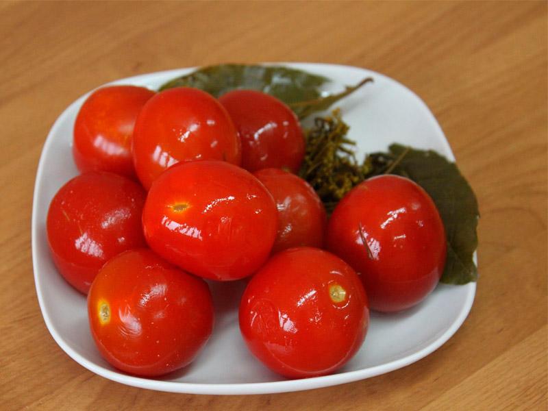 Засолка томатов на зиму