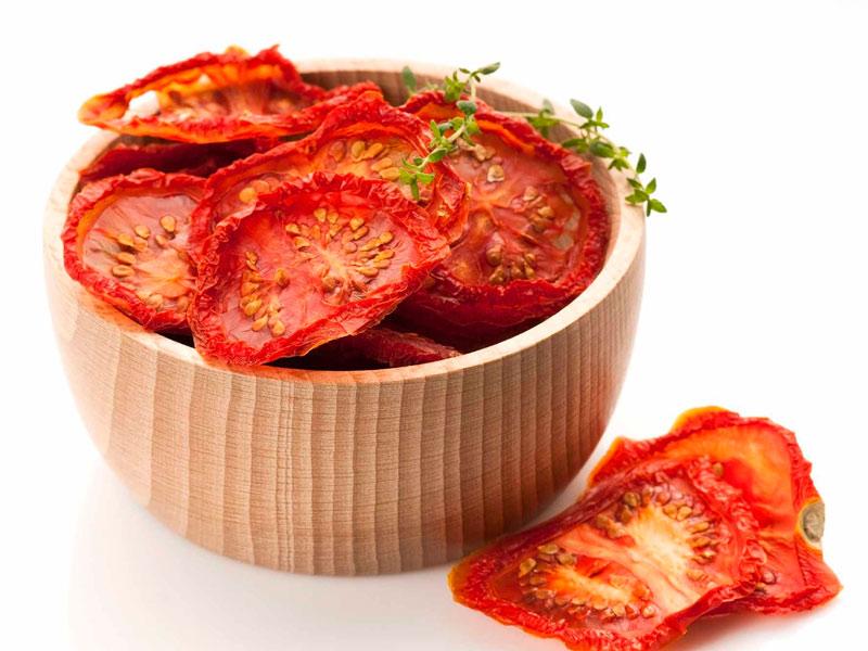 Как хранят сушеные помидоры